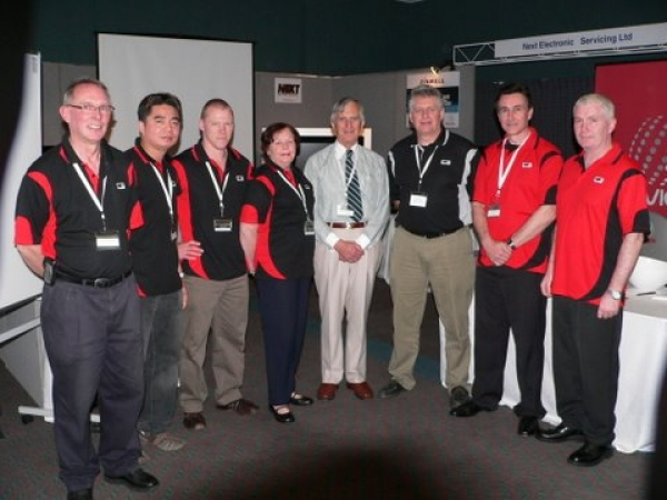 Next Electronics and the Freeview Team