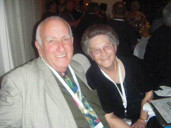 Graham and Rita, long standing supporters and friends of the Association
